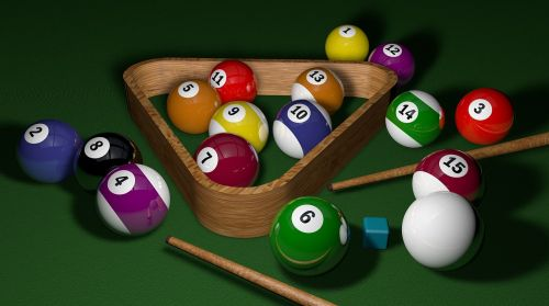 billiards game 3d