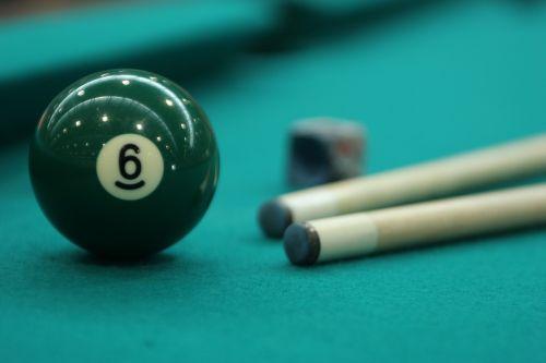 billiards sport balls