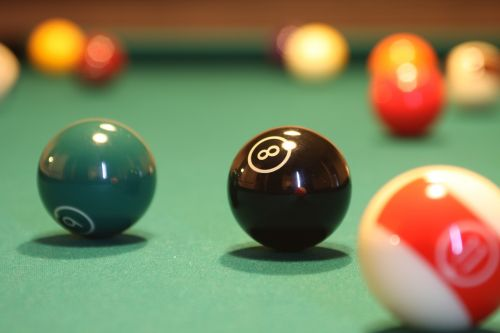 billiards hobbies interior