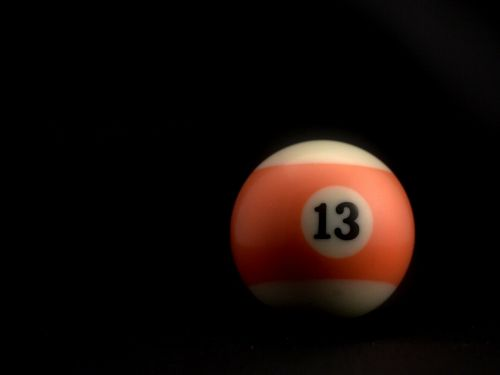 billiards black ball