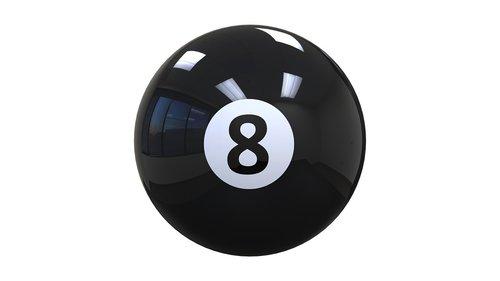 billiards  ball  eight