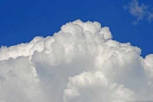 Billowing White Cloud