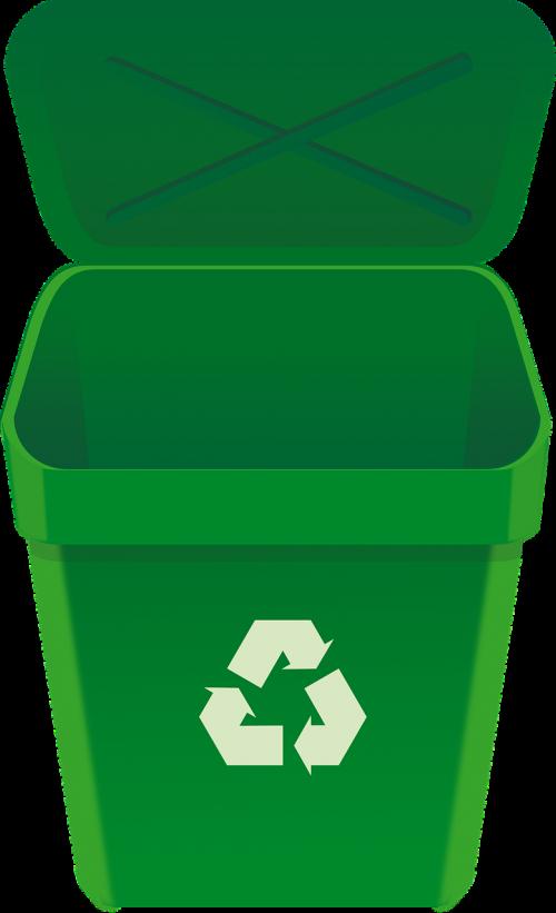 bin garbage recycle bin
