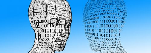 binary head face