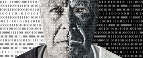 binary code man