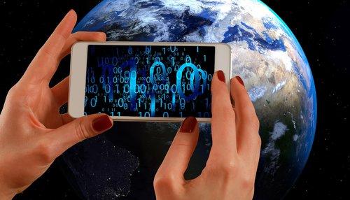 binary  binary code  smartphone