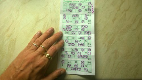 bingo coupon lucky