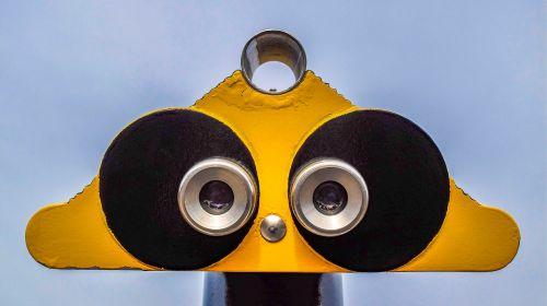 binocular telescope look