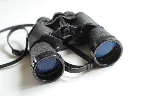 binoculars old antique