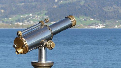 binoculars  water  view