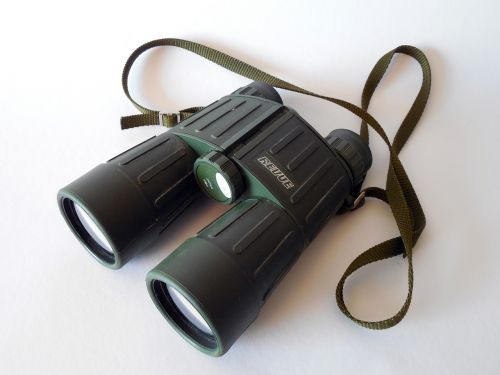 binoculars spy observation