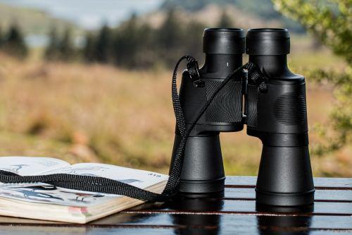binoculars birdwatching spy glass