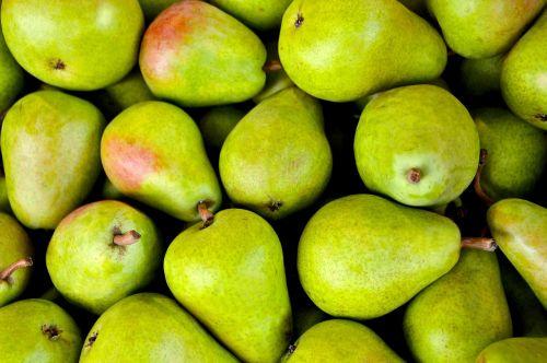 fruit pear pear basket