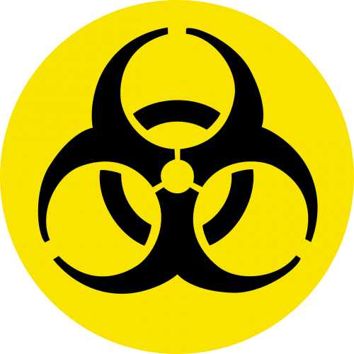 biohazard danger poisonous
