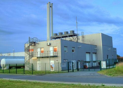biomass heating power plant werl germany