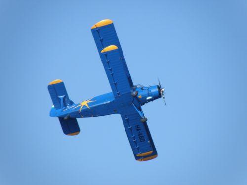 biplane plane wings