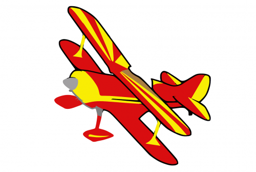biplane plane airplane