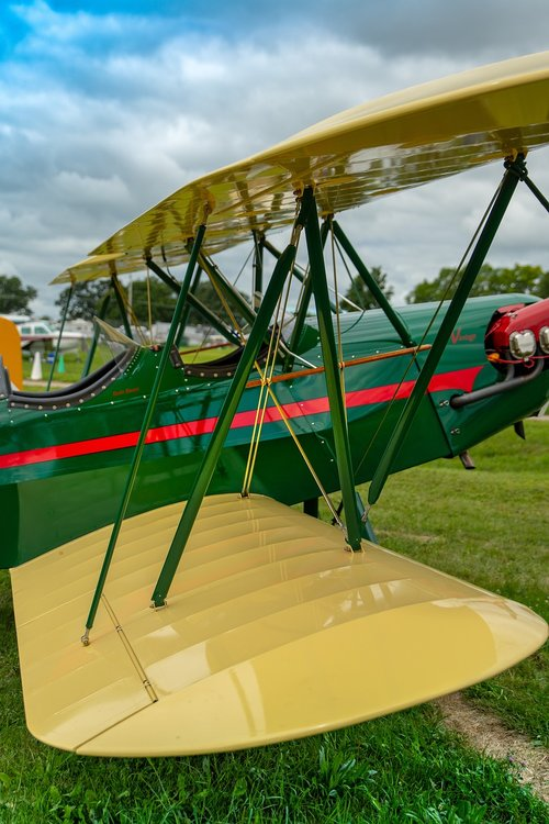 biplane  aviation  vintage