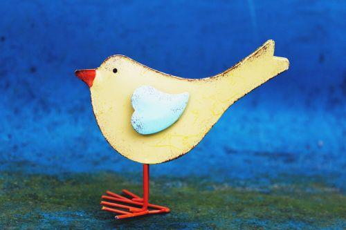 bird spring deco
