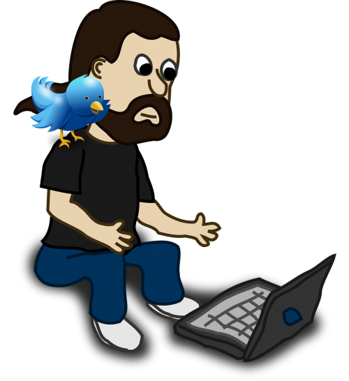 bird comic characters shoulder