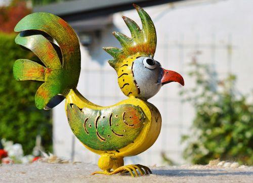 bird metal bird deco