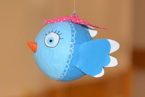 bird tinkering arts and crafts work