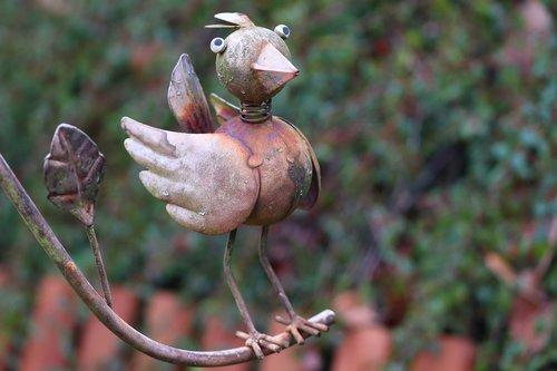 bird  metal bird  decoration