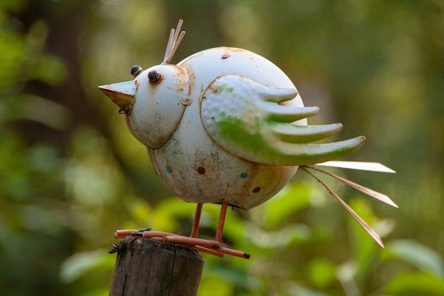 bird  metal  nature
