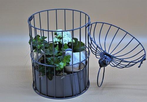 bird cage  decoration  cage