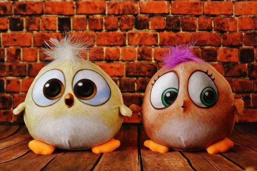 birdie plush toys cute
