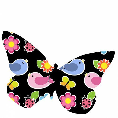 Birds Butterfly
