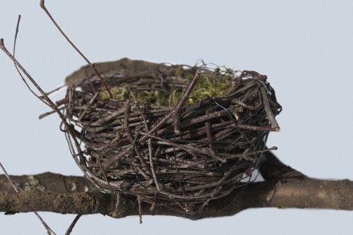 bird's nest nest easter nest