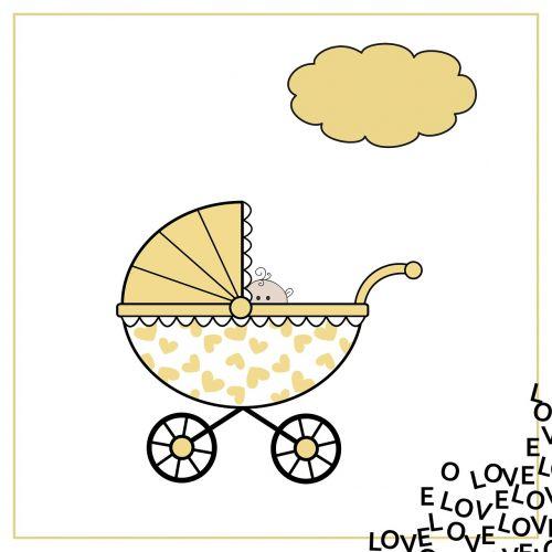 birth announcement birth map