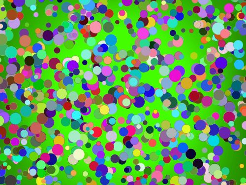 birthday confetti colorful