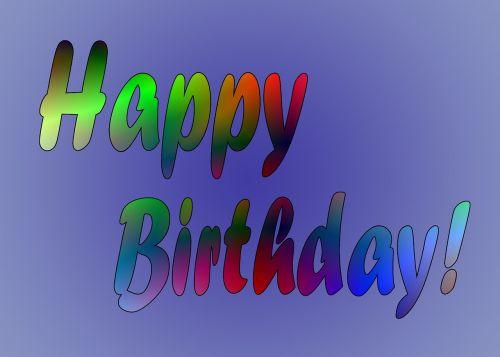 birthday congratulations party