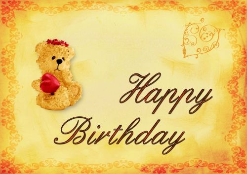 birthday background birthday card