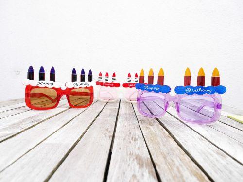 birthday glasses happy birthday
