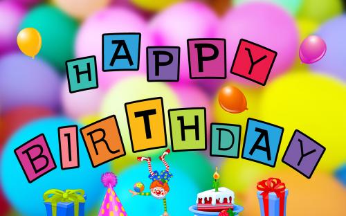 birthday happy birthday balloons