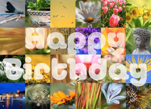 birthday happy birthday map