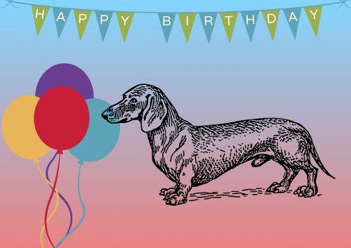 birthday map greeting card