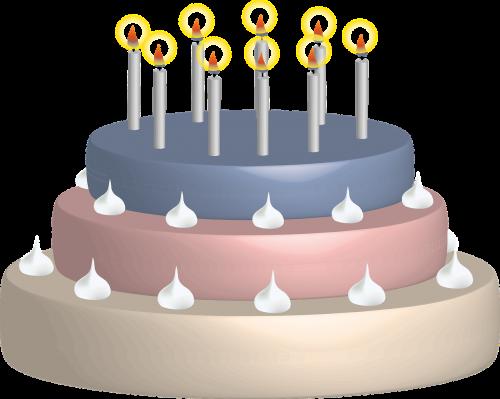 birthday cake candles birthday