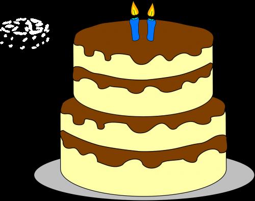 birthday cake birthday candles cake