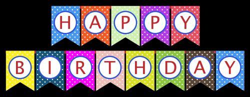 gimtadienis, šventė, laimingas & nbsp, gimtadienis, vėliavos, bunting, spalvinga, šviesus, polka & nbsp, taškų, taškai, dėmės, Scrapbooking, raudona, mėlynas, žalias, rožinis, gimtadienio šventė buntingo vėliavos