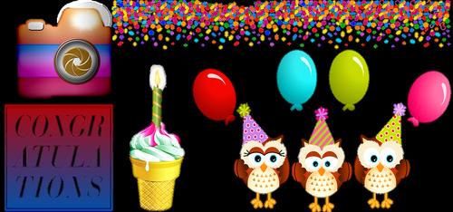 birthday party  happy birthday  cake