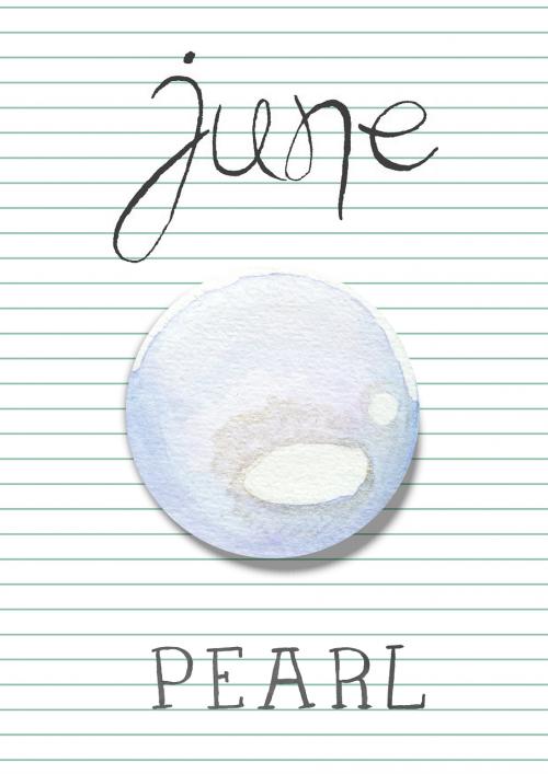 birthstone june pearl
