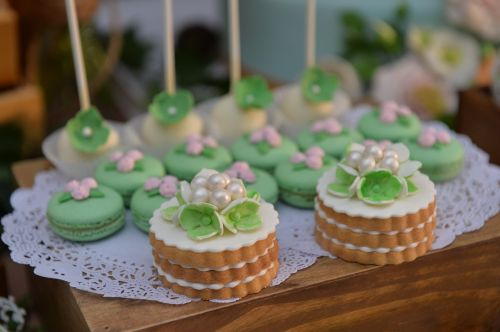 biscuit macaron fete