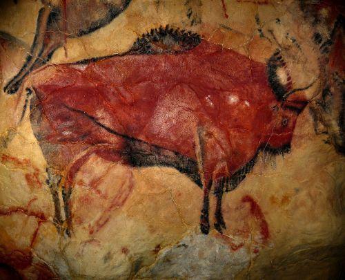 bison cave of altamira prehistoric art