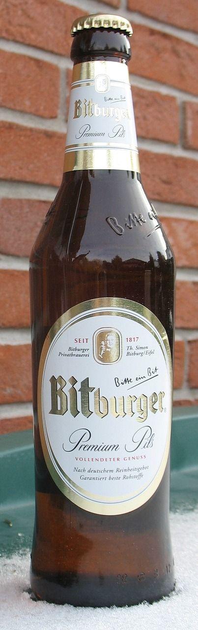 bitburger pils bottle