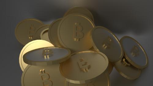 bitcoin coins gold