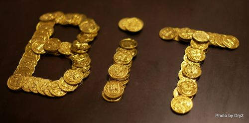 bitcoin coins gold